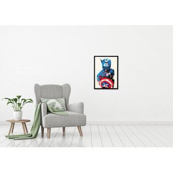 Captain America von Marshal Arts - Raumansicht