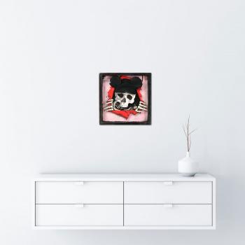 Dead Mouse (Pink Edition) von xxxhibition - Raumansicht