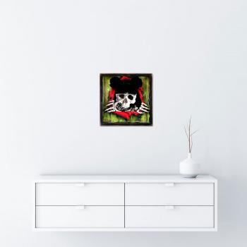 Dead Mouse (Green Edition) von xxxhibition - Raumansicht