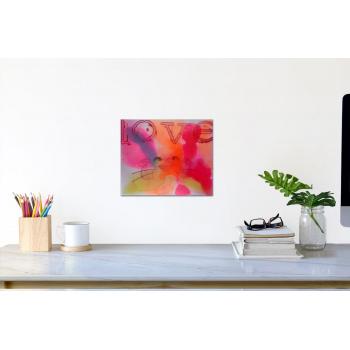 Pink Love von Jörg Döring - Raumansicht