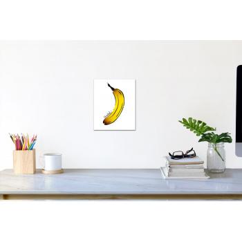Düsseldorf-Banane (klein) von Thomas Baumgärtel - Raumansicht