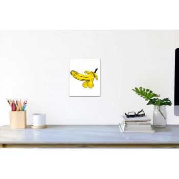 Fliegende Banane (klein) von Thomas Baumgärtel - Raumansicht