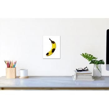 Fußball-Banane (klein) von Thomas Baumgärtel - Raumansicht