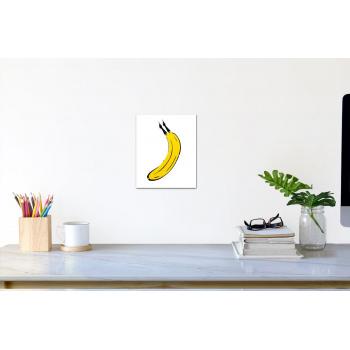 Köln-Banane (klein) von Thomas Baumgärtel - Raumansicht