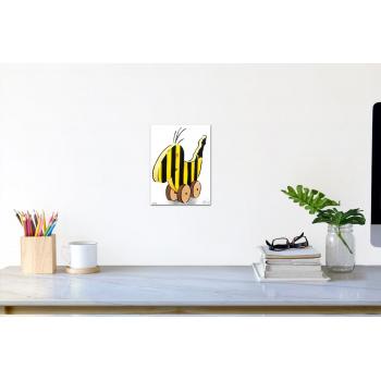 Panama-Banane (klein) von Thomas Baumgärtel - Raumansicht