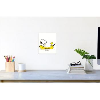 Snoopy-Banane (klein) von Thomas Baumgärtel - Raumansicht