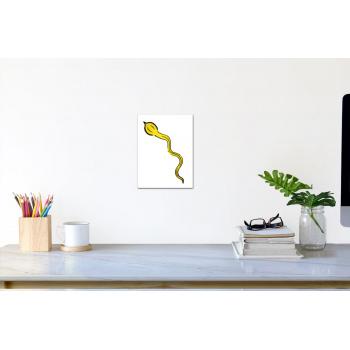 Spermium-Banane (klein) von Thomas Baumgärtel - Raumansicht