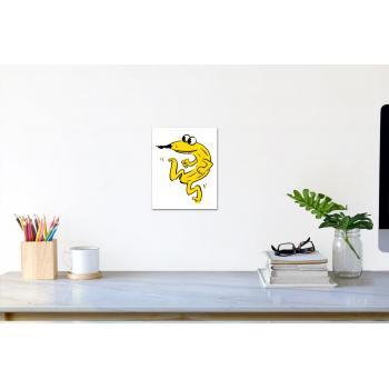 Stecher-Banane (klein) von Thomas Baumgärtel - Raumansicht