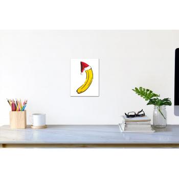 Weihnachts-Banane (klein) von Thomas Baumgärtel - Raumansicht