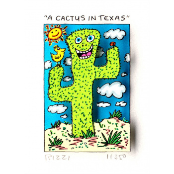 A Cactus in Texas von James Rizzi