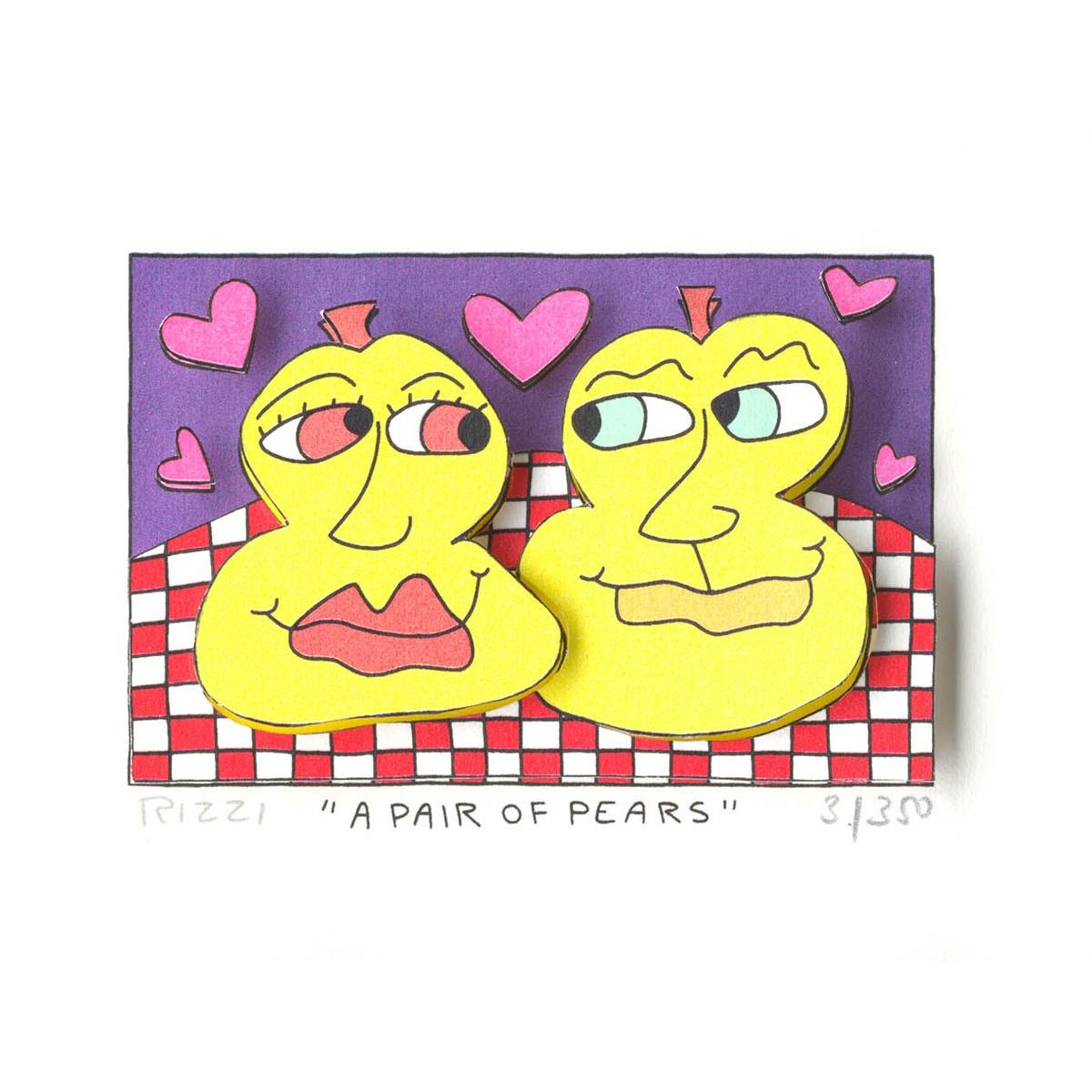 A pair of tears von James Rizzi