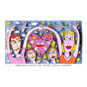 Absence makes the heart grow fonder von James Rizzi