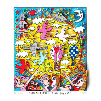 Beautiful sun daze von James Rizzi