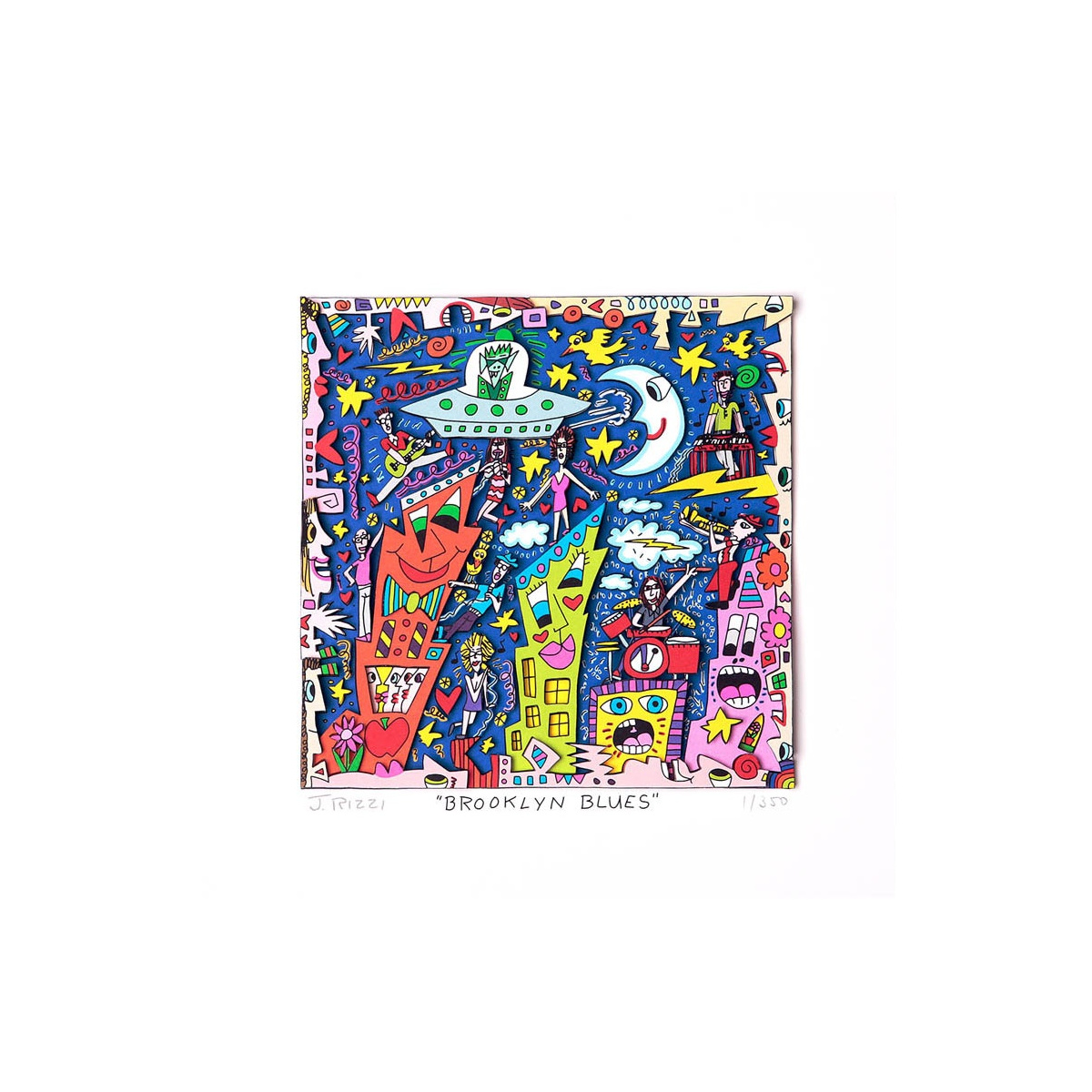 Brooklyn blues von James Rizzi