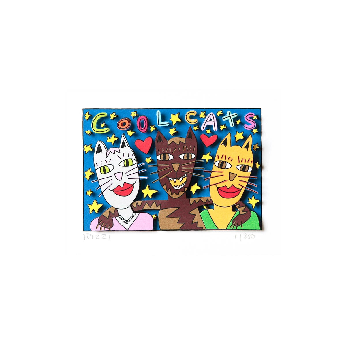 Cool cats von James Rizzi