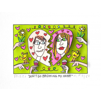 Don't go breaking my heart von James Rizzi
