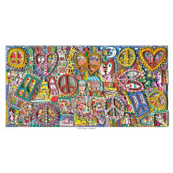 Give peace a chance von James Rizzi