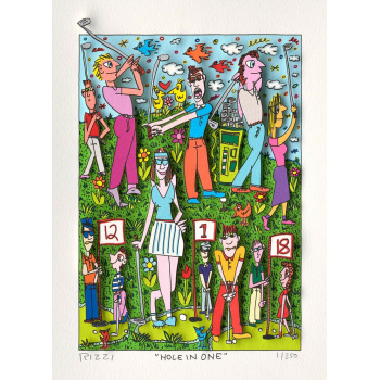 Hole in one von James Rizzi