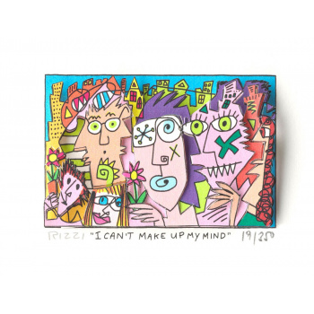 I can't make up my mind von James Rizzi