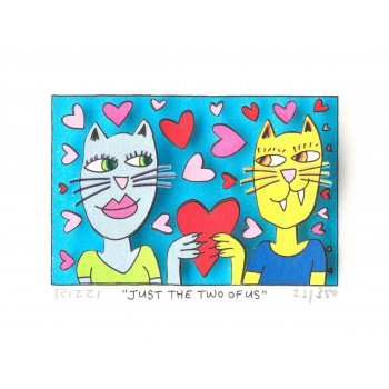 Just the two of us von James Rizzi