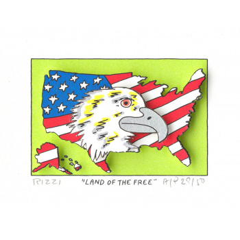 Land of the free von James Rizzi