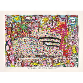 Let's all gather at the Guggenheim von James Rizzi