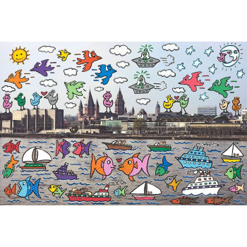 Let's all meet in Mainz von James Rizzi