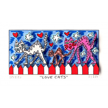 Love cats von James Rizzi