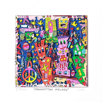 Manhattan melody von James Rizzi
