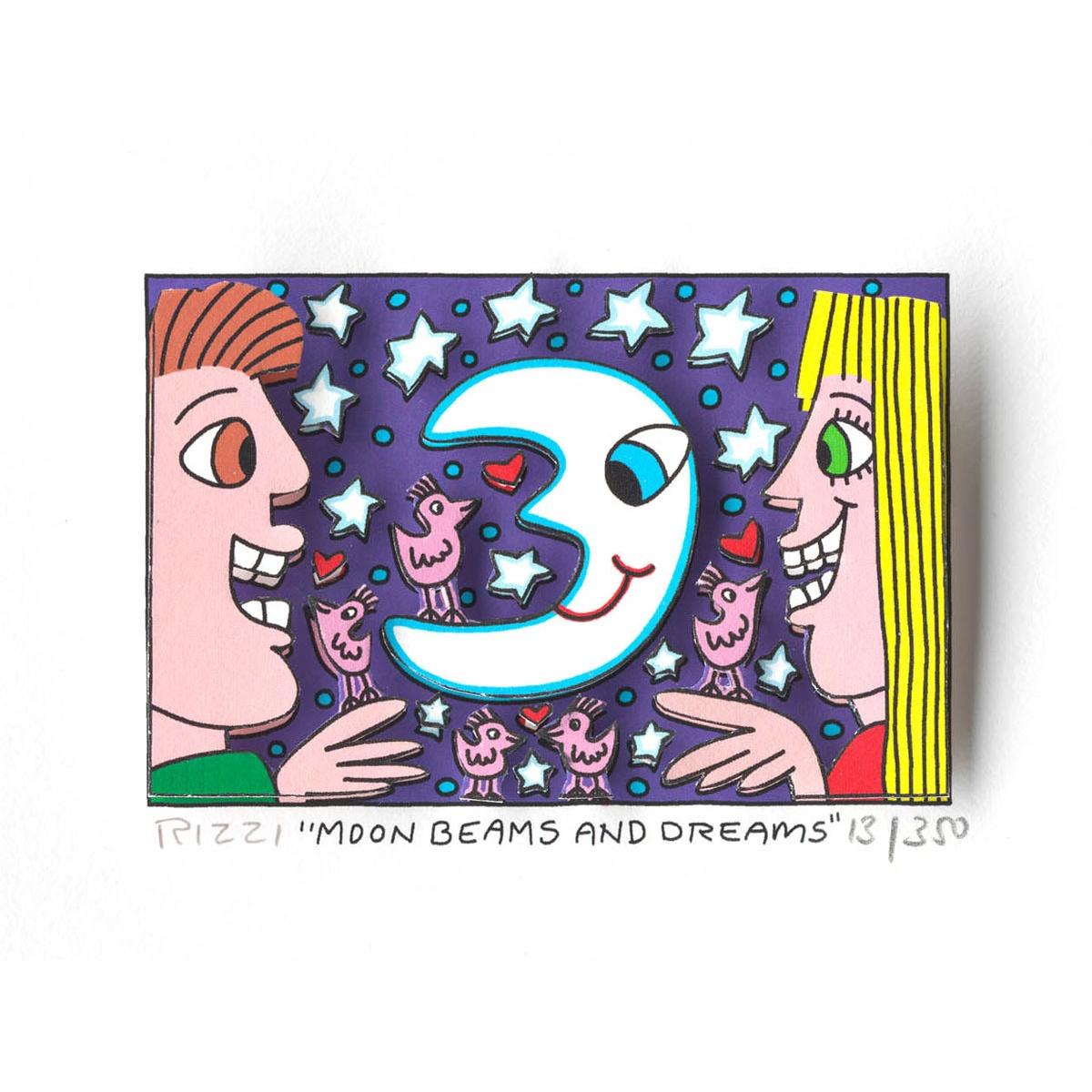 Moon beams and dreams von James Rizzi