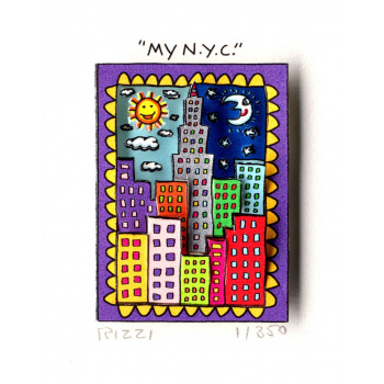 My N.Y.C. von James Rizzi