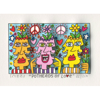 Potheads of love von James Rizzi