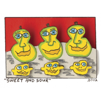 Sweet and sour von James Rizzi