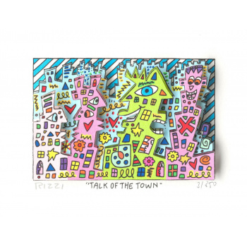 Talk of the town von James Rizzi