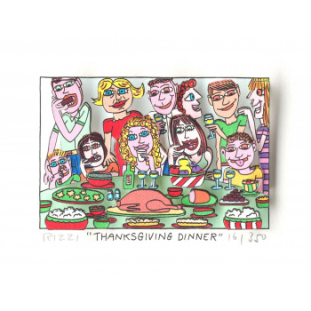 Thanksgiving dinner von James Rizzi