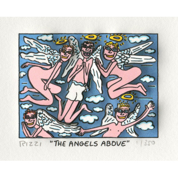 The angels above von James Rizzi