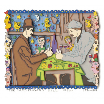 The card players von James Rizzi