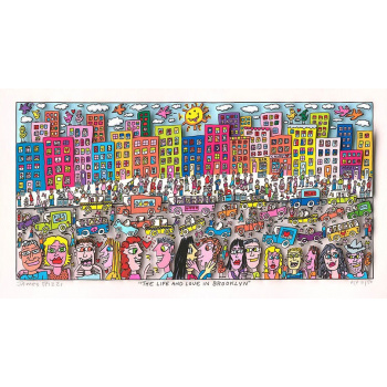 The life and love in Brooklyn von James Rizzi