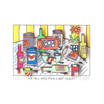 We all had fun last night von James Rizzi