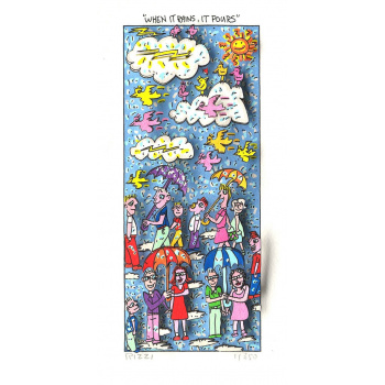 When it rains, it pours von James Rizzi