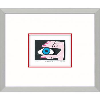 Eyecatcher von James Rizzi mit Magnetrahmen