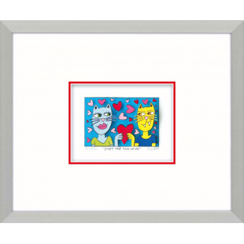 Just the two of us von James Rizzi mit Magnetrahmen