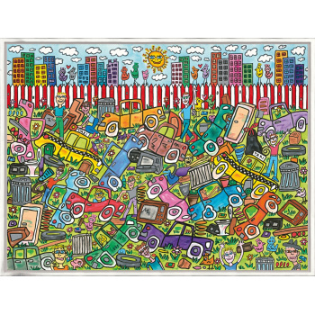 You don't have to pay to play von James Rizzi mit Rahmung