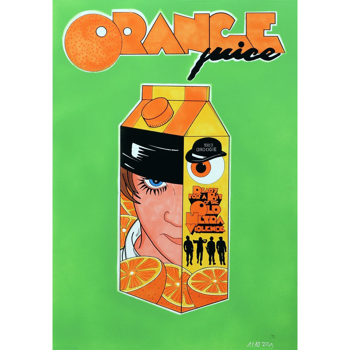 Orange Juice von R.F.ART