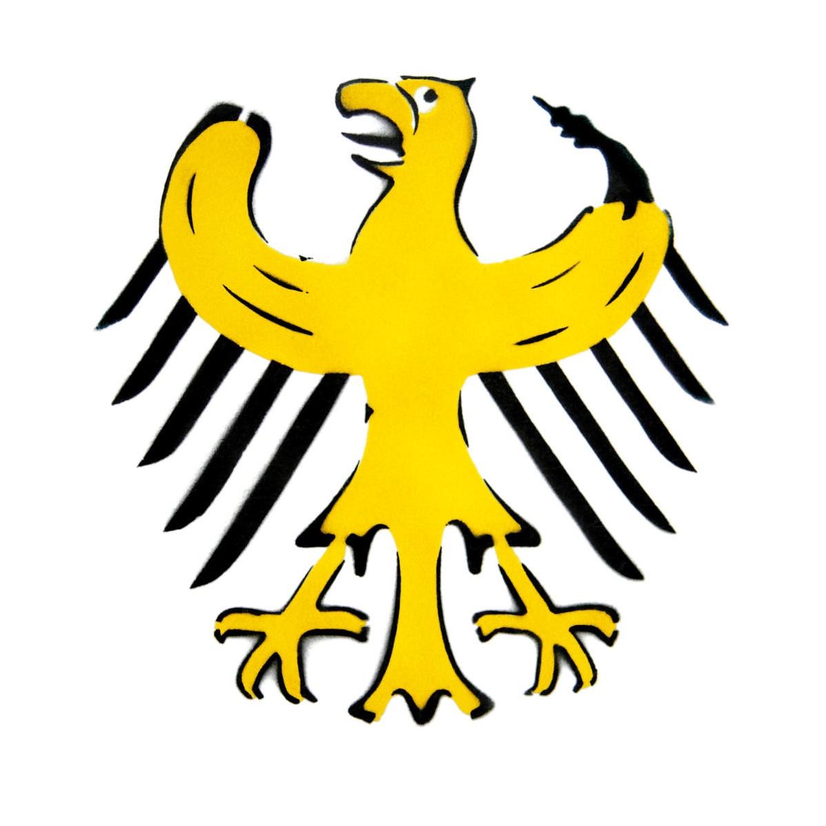 Bundesbananenadler von Thomas Baumgärtel