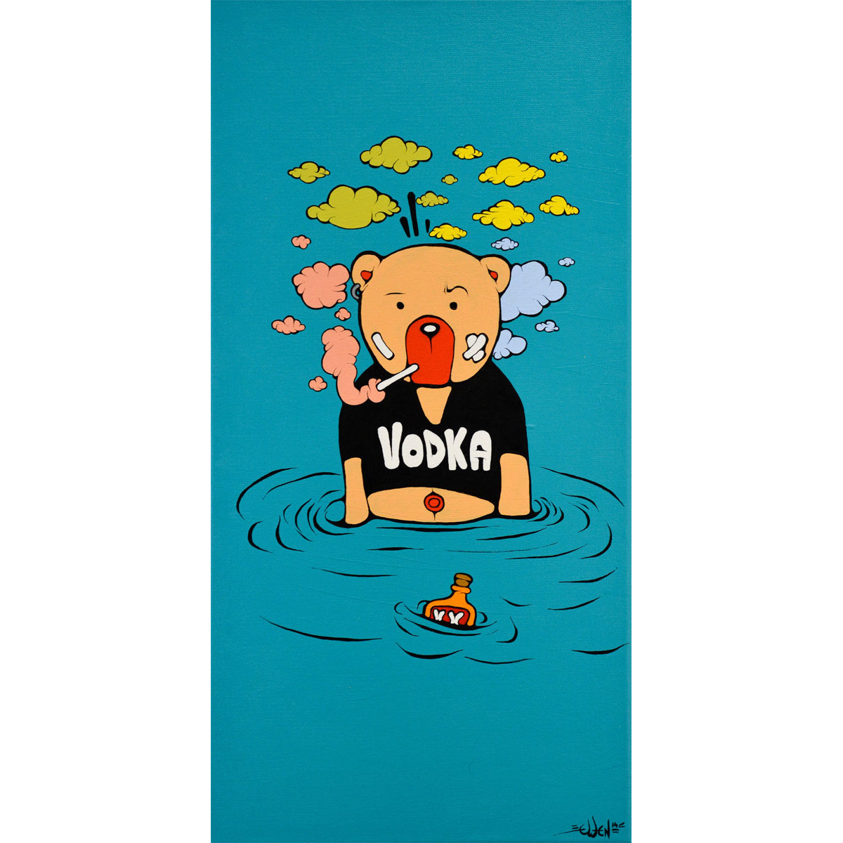 Drowning in Vodka von Ewen Gur