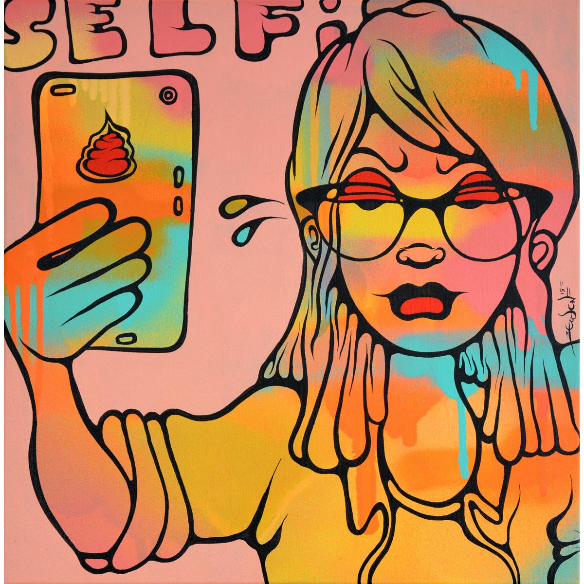 Selfie-ish 2 von Ewen Gur