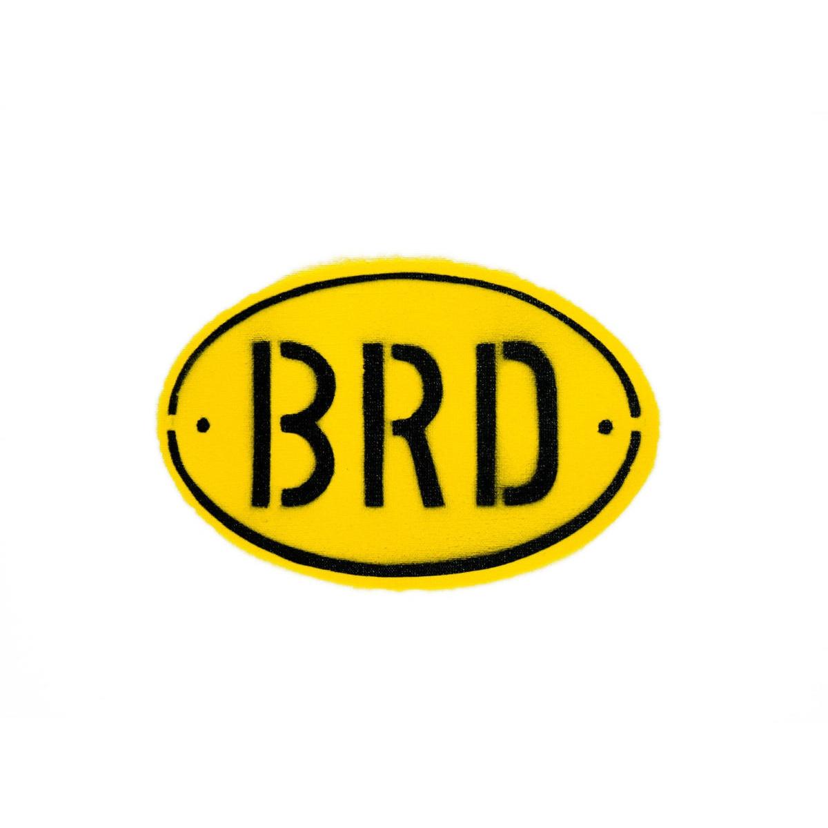 BRD-Banane von Thomas Baumgärtel