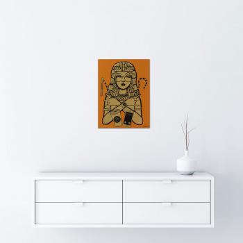 Cleopatra - Gold von Ewen Gur - Raumansicht