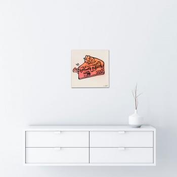 Fat cake von Ewen Gur - Raumansicht